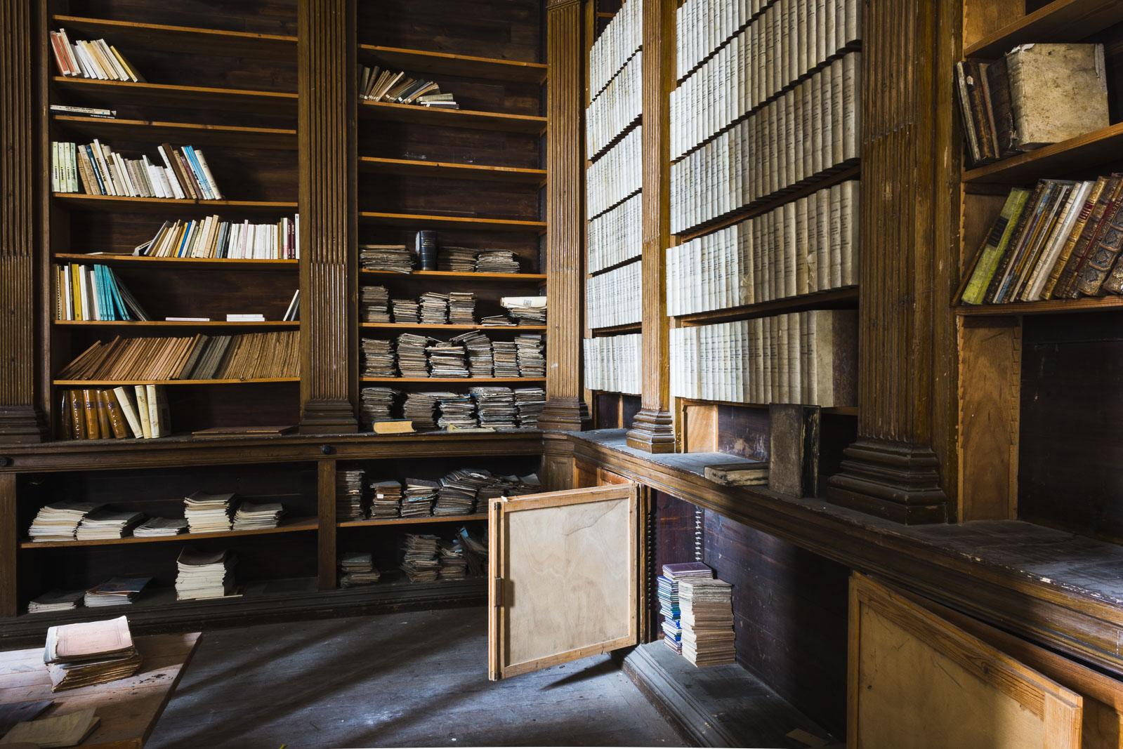Abbaye de Saint-Riquier Library